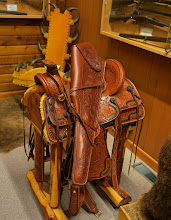 Photo: A very fancy saddle