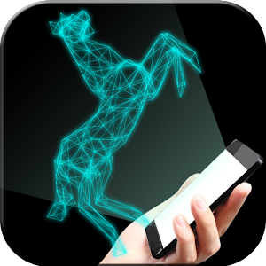 Hologram horse simulator for PC and MAC