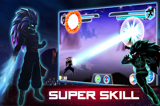 Dragon Shadow fight: Saiyan goku warrior apk screenshot