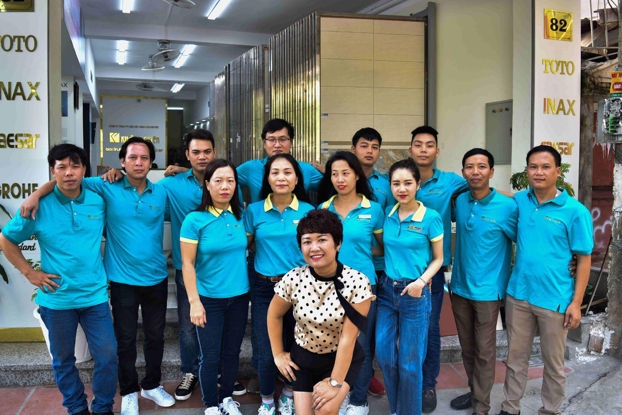 Đội ngũ nhân viên xuất sắc tại Khôi Nguyên