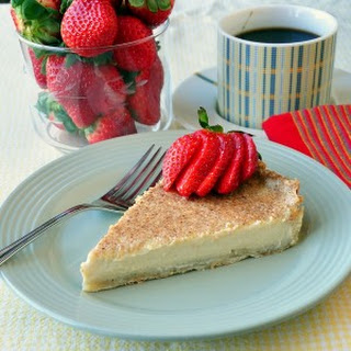 British Custard Tart.