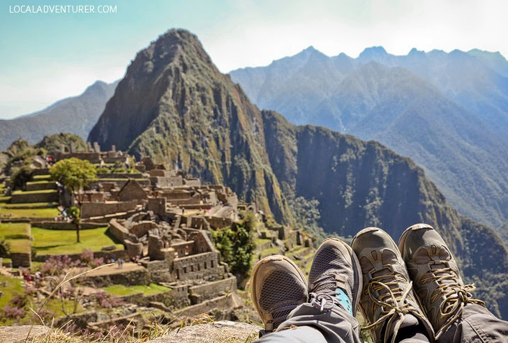 Pictures of Machu Picchu Peru South America.