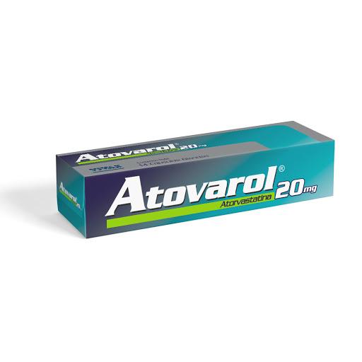 Atorvastatina Atovarol 20Mg X 14 Capsulas Vivax 20mg X 14 Capsulas