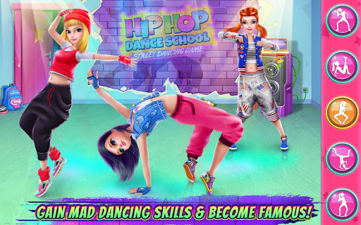 Hip Hop Dance School Game