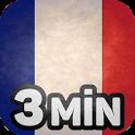 Französisch lernen in 3 Min icon