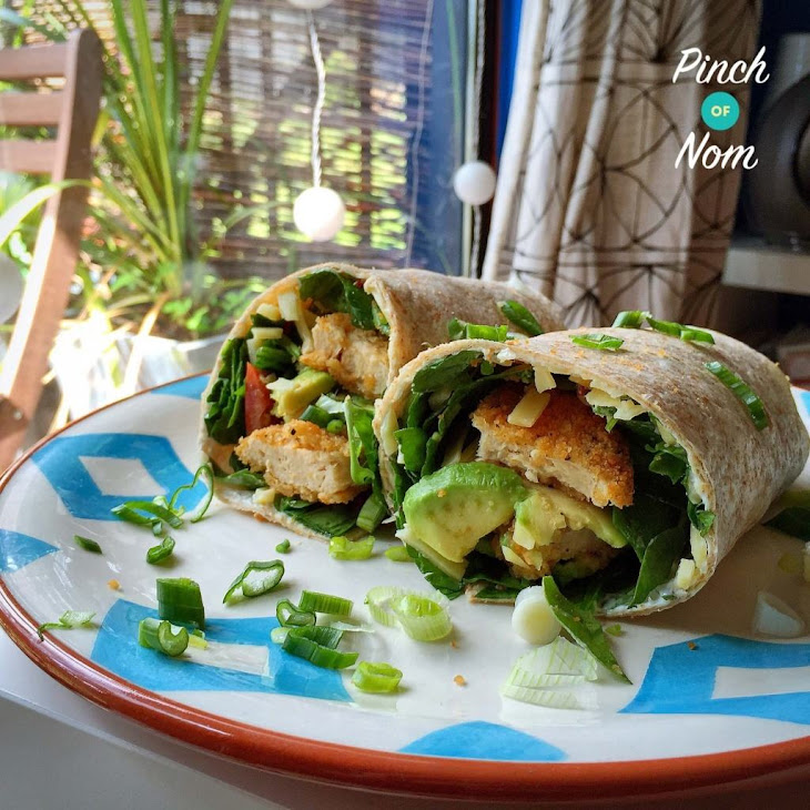 Quorn Chicken Burger Wrap Recipe