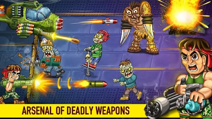 Last Heroes - Explosive Zombie Defense Shooting screenshot