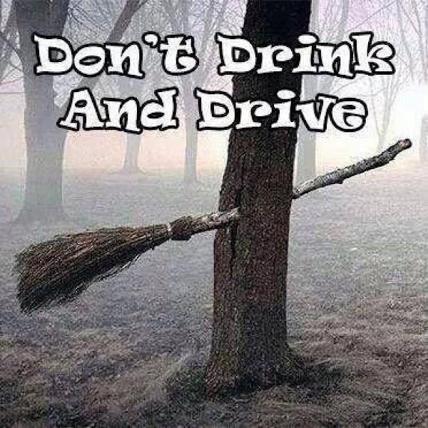 Drink responsibly.