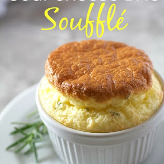 Goat Cheese Brie Soufflé