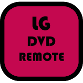 LG DVD Player remote