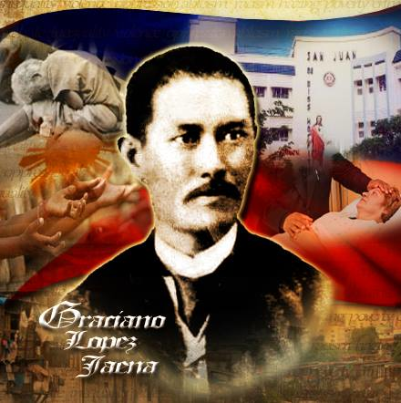 graciano lopez jaena Graciano lopez jaena was a famous 19th century filipino author and political activist his writings span multiple media, but they generally concern social justice.