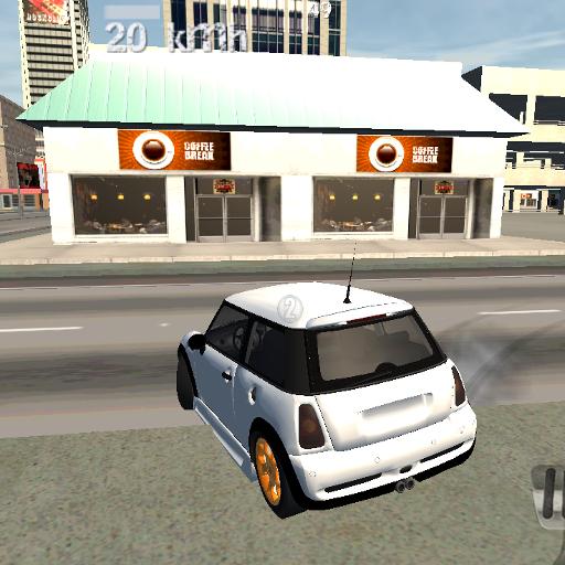 賽車遊戲必備App Urban Car Drive Simulator 3D LOGO-綠色工廠好玩App