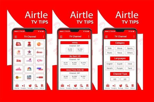 Free Airtel TV HD Channels Guide screenshot 2
