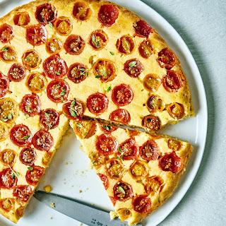 Upside-Down Tomato Corn Cake