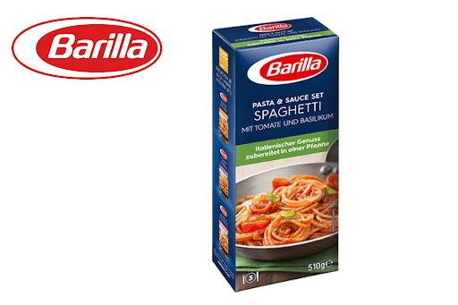 Bild für Cashback-Angebot: Barilla Pasta & Sauce - Spaghetti Tomate und Basilikum - Barilla