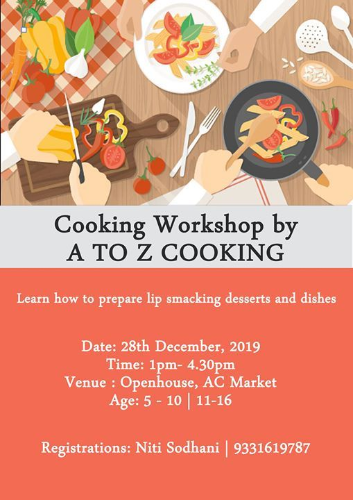 Kids' Cooking Workshop by A to Z Cooking