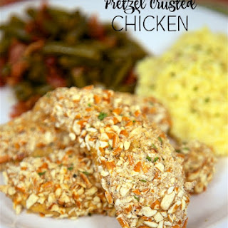 Pretzel Crusted Chicken Tenders