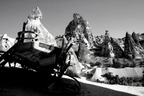 Il carro e la Cappadocia di Icarus