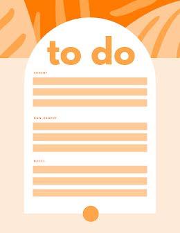 Urgent To Do - Planner item