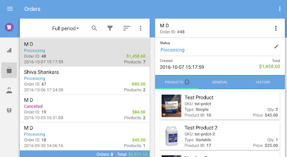 WooCommerce Mobile Assistant- screenshot thumbnail