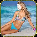 Girls Bikini Photo Editor icon