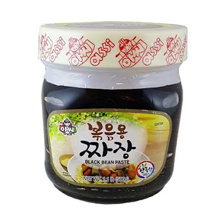 Jjajangmyeon Black Bean Paste 500g Assi