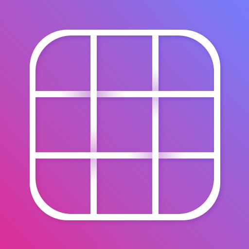 Grid Photo Maker for Instagram Icon
