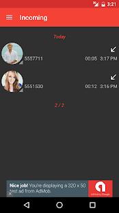 Digital Call Log 2 - náhled