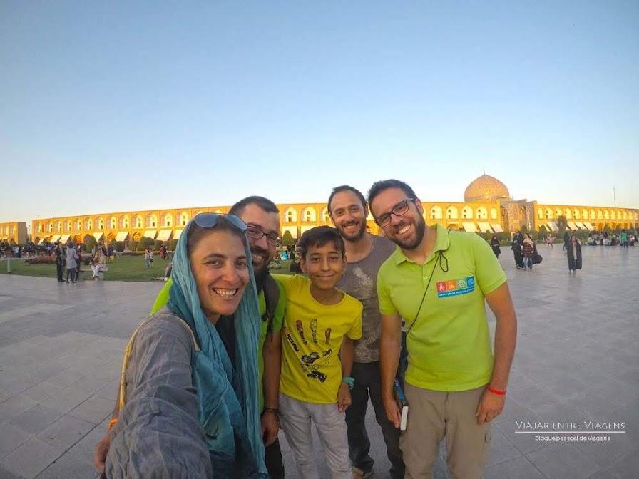 Dia 17 – Na metade do mundo, ISFAHAN, chegámos à metade da nossa viagem 🇮🇷 | Crónicas do Rally Mongol
