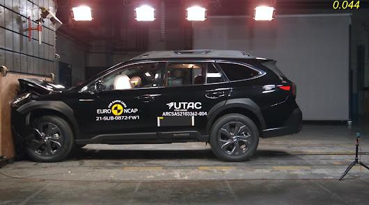 El nuevo Subaru Outback, el coche más seguro en 2021 según EURONCAP