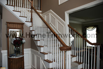 Photo: (After) Gorman's Foyer Stairs Schwenksville, PA