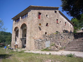 Photo: La Rectoria de La Miana, avui en dia, residència de turisme rural: http://www.lamiana.com/