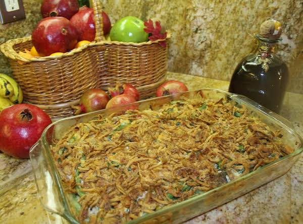 Crowd-pleaser Green Bean Casserole. Recipe