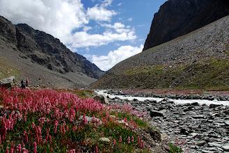 Photo: Camí del pròxim campament a Chumik Napko