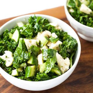 Cauliflower Kale Detox Salad {Vegan}.