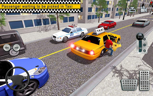 City Taxi Driving simulator: online Cab Games 2020 apkpoly screenshots 10