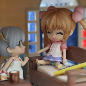 Chibi #1 by Timmothy Tjandra - Artistic Objects Toys ( canon, girls, girl, toy, toys, anime, bokeh )