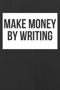 Make Money by Writing - náhled