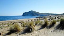Playa de Los Genoveses, en Cabo de Gata.