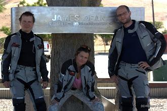 Photo: Tu zginął w wypadku samochodowym aktor James Dean