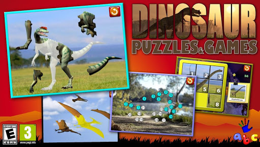孩子們恐龍益智遊戲