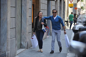 Photo of Jean Alesi  & his  Daughter   Helena Alesi