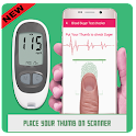 blood sugar checker prank icon