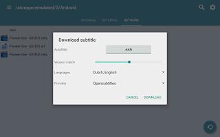 Screenshot of Subtitle Downloader Pro
