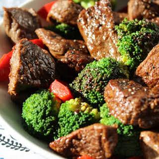 Tasty Beef and Brocolli.