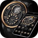 Gold Black Luxury Watch Theme 1.1.3