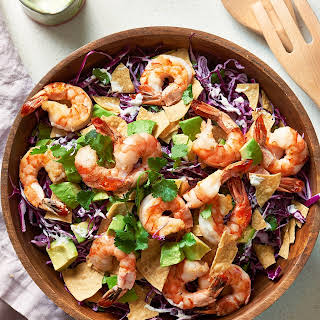 Baja Shrimp Taco Salad.