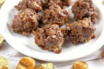 Sweet & Salty Peanut Butter Bites
