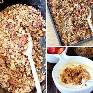 Healthy Slow Cooker Granola Recipe