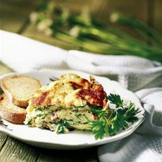 Spinach and Bacon Soufflé